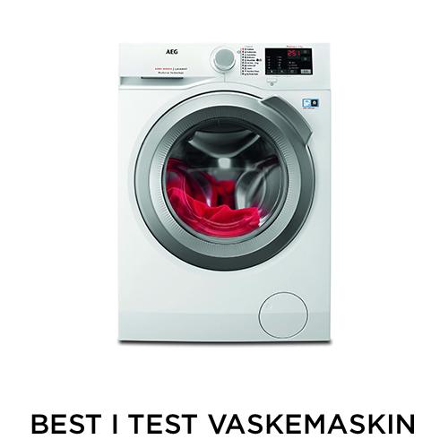 best i test av vaskemaskiner