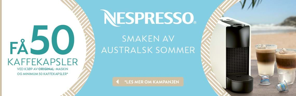 316317c4 Nespresso Sommer kampanje - Power.no